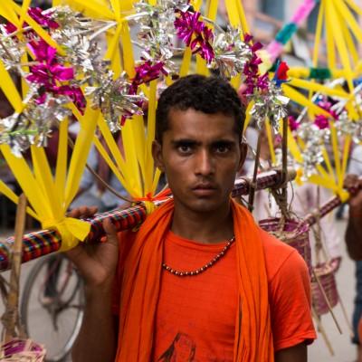 Puja Ritual – Haridwar, India