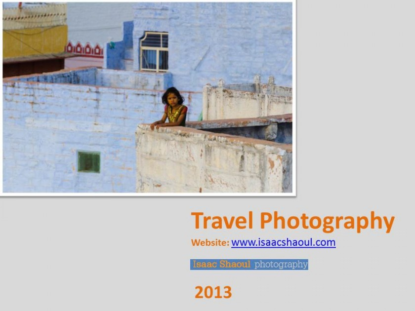 Travel Photography – Lectures